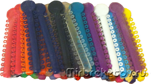 Цветные лигатуры - фото