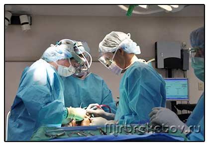 Фото: операция по хирургическому исправлению прикуса